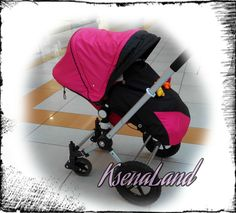 Hood canopy pink Sun Canopy Seat pad bumper bar cover Set & Sun Canopy Bugaboo Frog Cameleon Stroller pram / waterproof ...