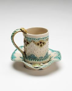 Demitasse, a Cup and Saucer, Claire Prenton