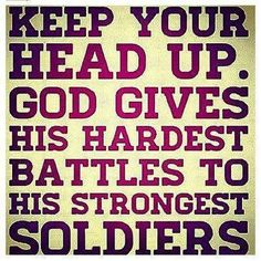 Keep Your Head Up Pictures, Photos, and Images for Facebook, Tumblr, Pinterest, and Twitter