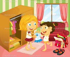 depositphotos_27916421-stock-illustration-a-girl-helping-her-sister.jpg (1023×839)