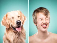 Like Owner, Like Dog: I Capture Dog Owners Mimicking Their Best Friends | Bored Panda
