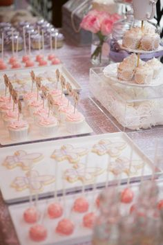 Vintage Parisian Bridal Shower Cupcakes and cookies Bridal Shower Party, Bridal Shower Decorations, Bridal Showers, Paris Girl, Ballerina Party, Paris Party, Cupcakes, Alternative Wedding, Anniversary Parties