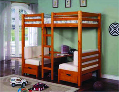 Ikea couch bunk bed with desk Couch Bunk Beds, Low Bunk Beds, Triple Bunk Beds, Bunk Bed With Desk, Wooden Bunk Beds, Bunk Beds With Stairs, Kids Bunk Beds, Loft Beds, Bed With Desk Underneath