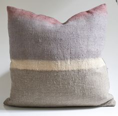 Mauve Colorline Pillow