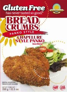 Product Image for Gluten Free Nut Free Panko Style Bread Crumbs