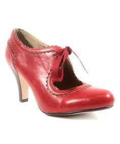 This Red Gallery Pump is perfect! #zulilyfinds