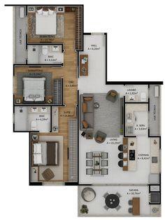 Sims House Plans, House Layout Plans, Dream House Plans, Small House Plans, House Layouts, House Floor Plans, House Floor Design, Sims House Design, Bungalow House Design