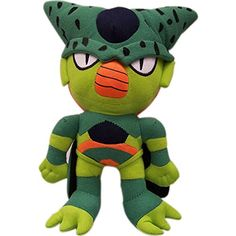 Great Eastern Dragon Ball-Z Cell 10 inches Plush: Dragon Ball Z: Cell Plush Goku, Dbz, Plush Dolls, Doll Toys, Soft Cell, Anime Toys, Toys Shop, Toy Store, Plushies
