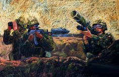 Polish infantry in battle