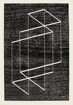 Josef Albers,Multiplex C, 1948 Frieze Masters, Joseph Albers, Classic Artwork, Environmental Art, Land Art, Op Art, Geometric Art, Optical Illusions, Graphic Design Illustration
