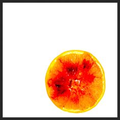 Blood from an orange