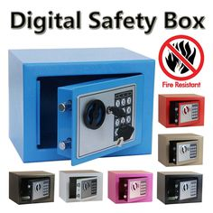 87.69$  Watch now - http://aliyfm.shopchina.info/go.php?t=32624347570 - Digital safe box Fire Proof Ideal to Guard Valuables Secret At Home while Travel Storage Jewellery Gold caja fuerte coffre fort  #buyininternet