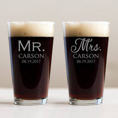 Wedding Favour,Father of the Bride Personalised Tulip Pint Glass Groom Gift