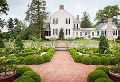 Gardens take work, but they're also an escape hatch into a more whimsical, elegant world. Take jewelry designer Elizabeth Locke's Virginia gardens as proof: She's created the formal Italianate garden she's always wanted, and it's a source of happiness and fun for her—despite all the weeding. See how Elizabeth designed her private paradise, and pick up your own inspired garden finds.