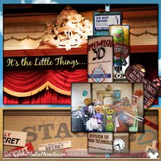Muppet Vision - photo collage layout