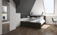 pokój młodzieżowy na podaszu | DomoArt.pl | Pomysły na urządzanie, Dekoracje i aranżacje wnętrza