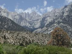 Mt. Whitney, Lone Pine, California