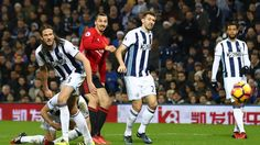 Zlatan Ibrahimovic Photos Photos: West Bromwich Albion v Manchester United - Premier League Manchester United Premier League, Full Match, West Bromwich, Match Highlights, Face Treatment, Premier League Matches, Football Soccer, Basketball Court, The Unit