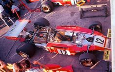 Lauda's and Regazzoni´s Ferrari 312B3 at Mónaco 1974