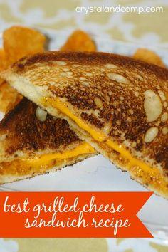 best grilled cheese sandwich recipe