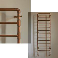 Copper pipes radiator www.thisisladyland.com