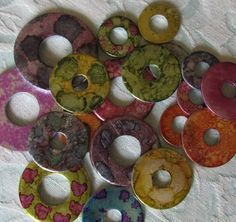 How to Use Alcohol Ink on Metal to Create Washer Necklaces