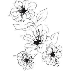 Flower Stencils Printable | Stencils Designs Free Printable Downloads - Stencil 076