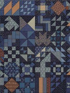 Block a Day - 365 free block patterns
