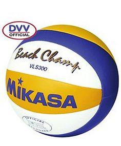 """Beach-Volleyball """"Beach Champ VLS 300"""" by Mikasa  #volleyball #official #olympia2012 #engelhorn  www.sports.engelhorn.de"""