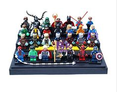 30pcs/lot Marvel Super Heroes Minifigures ABS Ninja The Avengers Iron man Compatible With lego Build @ niftywarehouse.com #NiftyWarehouse #IronMan #Iron-man #Marvel #Avengers #TheAvengers #ComicBooks #Movies