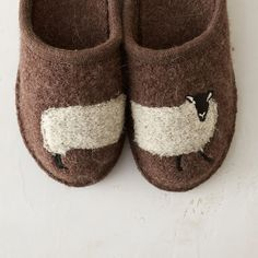Woolly Sheep Slippers in House + Home Bags + Boots at Terrain