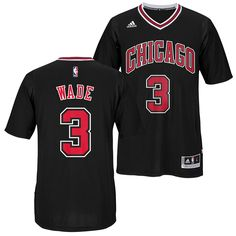 45c8effd3 Men s Chicago Bulls Dwyane Wade Adidas Men s Alternate Swingman Jersey