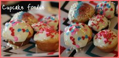 Bridgey Widgey: Cupcake Fondue