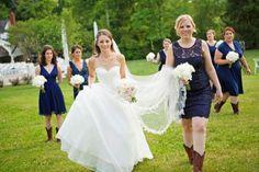 WEDDING PARTY. #cedarwoodweddings  Blush ad Navy Romantic, Preppy and Classic Cedarwood Wedding   Cedarwood Weddings