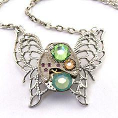 Steampunk Jewelry Necklace | http://awesomewomensjewelry.blogspot.com