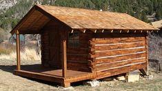 dovetailing log cabin