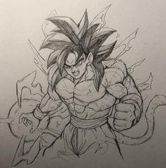 Dragon Ball Image, Dragon Ball Gt, Anime Boy Sketch, Dbz Drawings, Z Tattoo, Ball Drawing, Estilo Anime, Animes Wallpapers, Drawing People