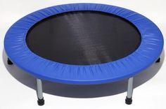 A mini trampoline is portable.