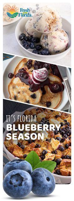 Blueberry Recipes, Fruit Recipes, Sweet Recipes, Baking Recipes, Dessert Recipes, Good Morning Breakfast, Delicious Desserts, Yummy Food, Desert Recipes