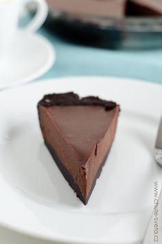 čokoládový lanýžový dort Something Sweet, Cheesecake, Food And Drink, Desserts, Cheesecakes, Deserts, Dessert, Postres, Cheesecake Pie