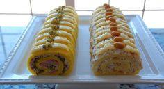 Domaći Kuhar - Deserti i Slana jela: Slani rolat Czech Recipes, Ethnic Recipes, My Favorite Food, Favorite Recipes, Sandwich Cake, Savoury Cake, Hot Dog Buns, Brunch, Good Food