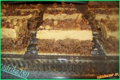 rezy na oblátke - Yahoo Image Search Results Czech Recipes, Russian Recipes, Ethnic Recipes, Hungarian Cake, Tiramisu, Food And Drink, Yummy Food, Sweets, Image Search