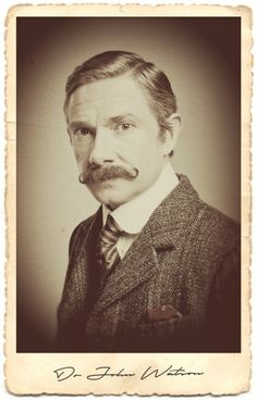 The Abominable Bride character portraits - Dr John Watson