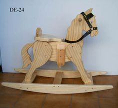 17 new Pins for your Toys and Games - Kids Crafts - Educational Kids Activities Rocking Horse Plans, Wood Rocking Horse, Wooden Horse, Wood Shop Projects, Diy Wood Projects, Wood Crafts, Drawing Room Furniture, Kids Furniture, Woodworking Toys