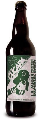 Cucapá La Migra Winter País: México Empresa: Cerveza Cucapá Tipo de elaboración: Artesanal | México - Artesanal Tipo: Imperial Stout | México - Imperial Stout Graduación: 8,2%vol.