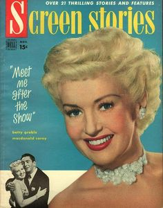 item details: Entire Issuekeywords: Betty Grable