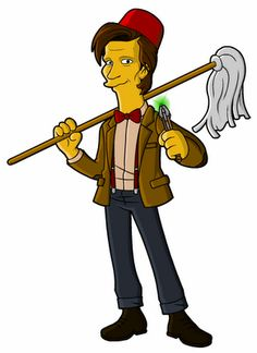 The Doctor on The Simpsons