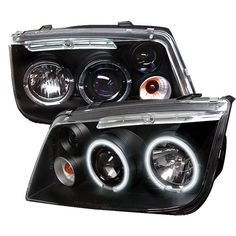 Awesome Volkswagen 2017: Volkswagen  Jetta 1999-2005  Black CCFL LED Projector Headlights... Car24 - World Bayers Check more at http://car24.top/2017/2017/07/09/volkswagen-2017-volkswagen-jetta-1999-2005-black-ccfl-led-projector-headlights-car24-world-bayers/