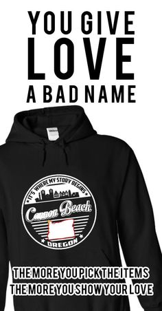 If YOU were born, grew up, or lived in Cannon Beach, Oregon then YOU remember, believe its where YOUR STORY begins! These T-Shirts and Hoodies are perfect for you! Get yours now and wear it proud!