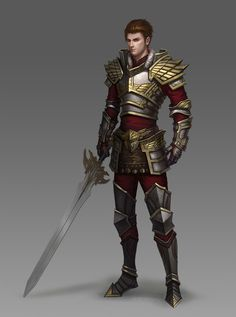 ArtStation - The knight, An Ran Xie